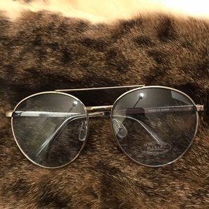 Zara women sky blue Aviator sunglasses 🕶